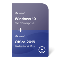 Windows 10 Pro / Enterprise + Office 2019 Professional Plus