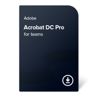 Adobe Acrobat DC Pro for teams (EN) – 1 година
