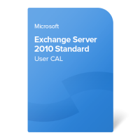Exchange Server 2010 Standard User CAL