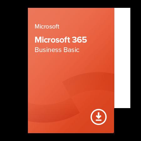 Microsoft 365 Business Basic elektronický certifikát