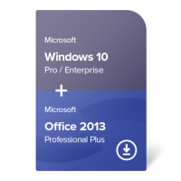 Windows 10 Pro / Enterprise + Office 2013 Professional Plus
