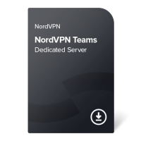 NordVPN Teams Dedicated Server – 1 měsíc