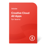 Adobe CC All Apps for teams (Multi-Language) – 1 rok