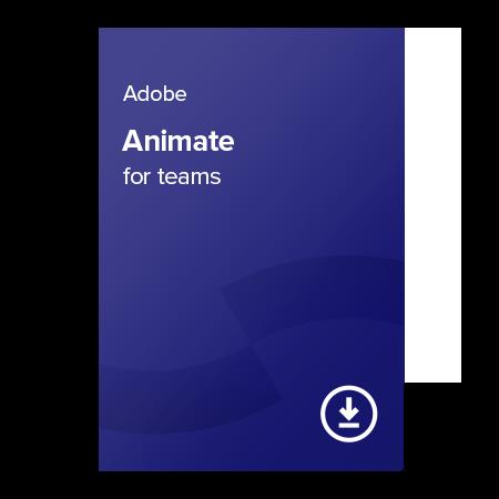 Levně Adobe Animate for teams (EN) – 1 rok digital certificate