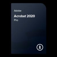 Adobe Acrobat 2020 Pro (CZ) – trvalé vlastnictví