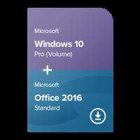 Windows 10 Pro (Volume) + Office 2016 Standard