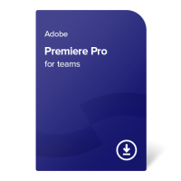 Adobe Premiere Pro for teams PC/MAC Multi-Language, 1 year