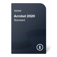 Adobe Acrobat 2020 Standard (SI) – perpetual ownership