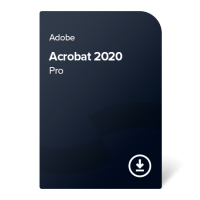 Adobe Acrobat 2020 Pro (SK) – perpetual ownership
