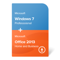 Windows 7 Professional + Office 2013 Home and Business