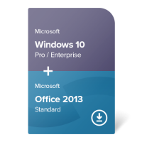 Windows 10 Pro / Enterprise + Office 2013 Standard