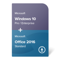 Windows 10 Pro / Enterprise + Office 2016 Standard
