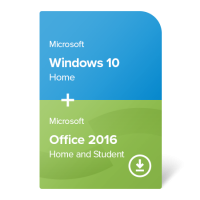 Windows 10 Home + Office 2019 Home and Student