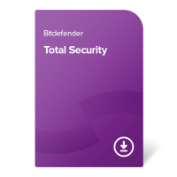 Bitdefender Total Security – 1 anno