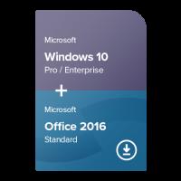 Windows 10 Pro / Enterprise + Office 2016 Standard