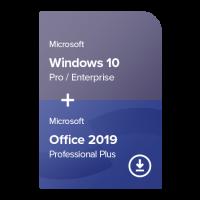 Windows 10 Pro / Enterprise + Office 2019 Professional Plus