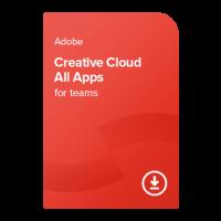 Adobe CC All Apps for teams (EN) – 1 rok