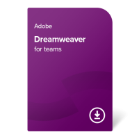 Adobe Dreamweaver for teams (Multi-Language) – 1 an