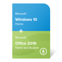 Windows 10 Home + Office 2016 Home and Student