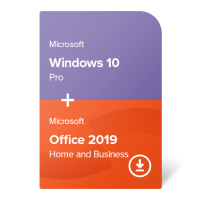 Windows 10 Pro + Office 2019 Home and Business