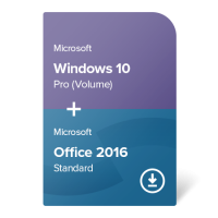 Windows 10 Pro (Volume) + Office 2016 Standard