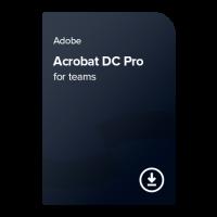 Adobe Acrobat DC Pro for teams PC/MAC ENG, 1 leto