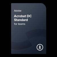 Adobe Acrobat Standard DC for teams PC Multi-Language, 1 leto