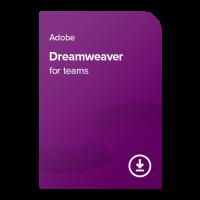 Adobe Dreamweaver for teams PC/MAC ENG, 1 leto