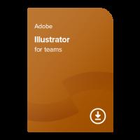 Adobe Illustrator for teams PC/MAC ENG, 1 leto