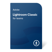 Adobe Lightroom Classic for teams (EN) – 1 leto