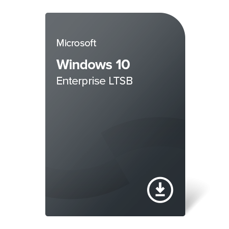 Windows 10 Enterprise LTSB, KV3-00262F elektronický certifikát