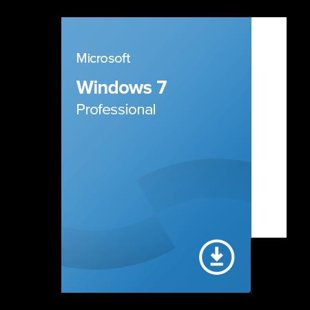 Microsoft Windows 7 Professional (FQC-08701) elektronický certifikát