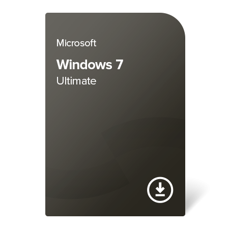 Microsoft Windows 7 Ultimate (GLC-00733) elektronický certifikát