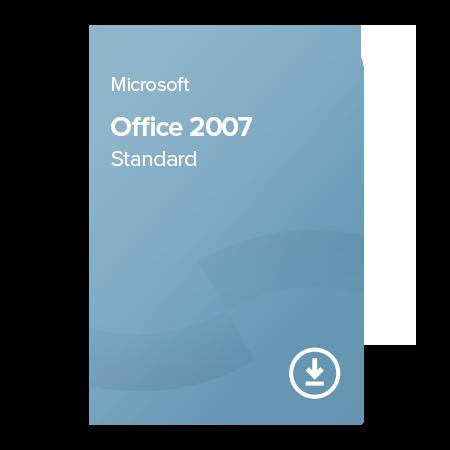 Microsoft Office 2007 Standard OLP NL, 021-07746 elektronický certifikát