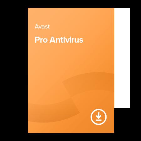 Avast Pro Antivirus – 1 rok Pre 3 zariadenia, elektronický certifikát
