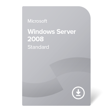 Microsoft Windows Server 2008 Standard, P73-04001 elektronický certifikát