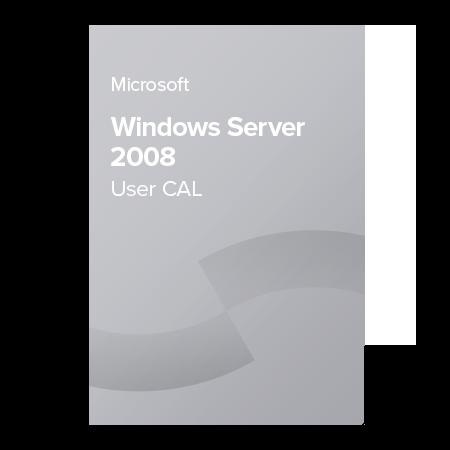 Microsoft Windows Server 2008 User CAL, R18-00145 elektronický certifikát
