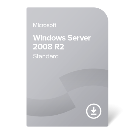 Microsoft Windows Server 2008 R2 Standard, P73-04849 elektronický certifikát