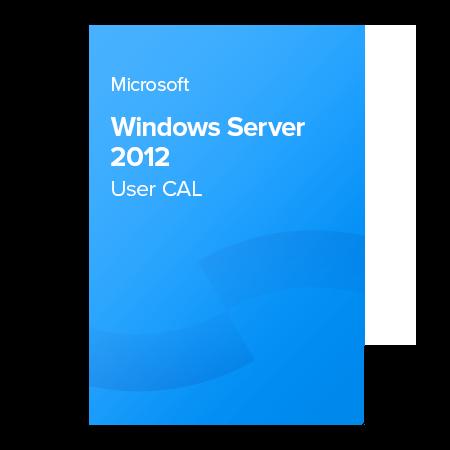 Microsoft Windows Server 2012 User CAL, R18-00145 elektronický certifikát