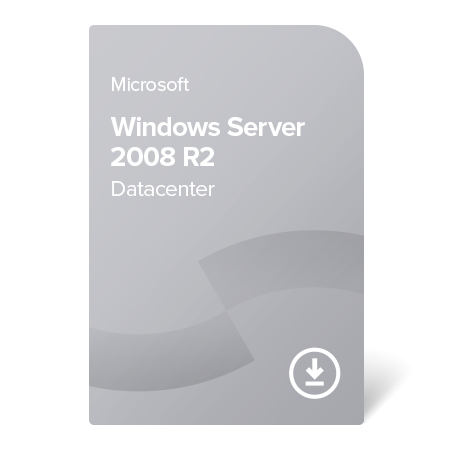 Microsoft Windows Server 2008 R2 Datacenter, P71-05925 elektronický certifikát