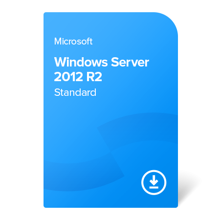 Microsoft Windows Server 2012 R2 Standard, P73-05760 elektronický certifikát