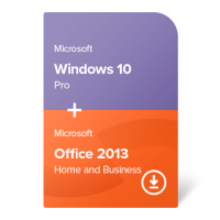 Windows 10 Pro + Office 2013 Home and Business