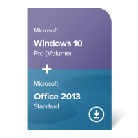 Windows 10 Pro (Volume) + Office 2013 Standard