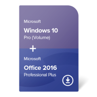 Windows 10 Pro (Volume) + Office 2016 Professional Plus