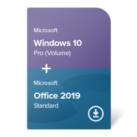 Windows 10 Pro (Volume) + Office 2019 Standard