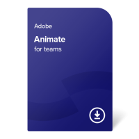 Adobe Animate for teams PC/MAC Multi-Language, 1 rok