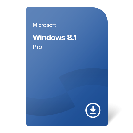 Microsoft Windows 8.1 Pro, FQC-02460 digital certificate