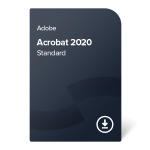 Adobe Acrobat 2020 Standard (SK) – trvalé vlastníctvo
