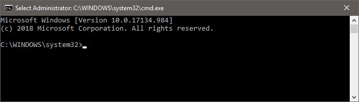 command prompt cmd